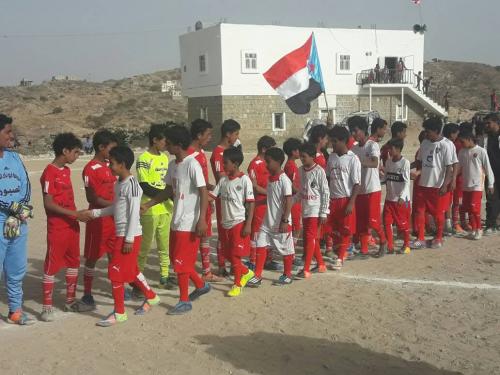 التعادل الايجابي ينهي مباراة فريق مدرسة أبو بكر الصديق لصبور مع فريق مدرسة ظاهرة الشرف بالشعيب