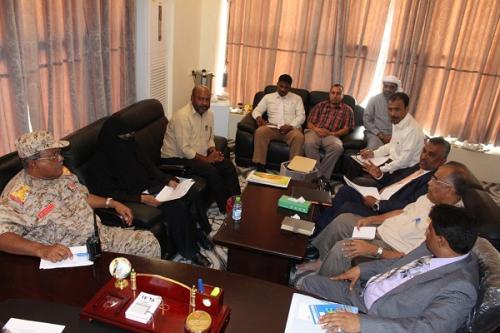 لجنة الاحتفالات تقر برنامج  الاحتفالات بالذكرى الثانية لتحرير ساحل حضرموت