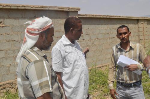 مدير  الصحة بالمهرة يتفقد المراكز الصحية بمنطقتي يروب والفيدمي