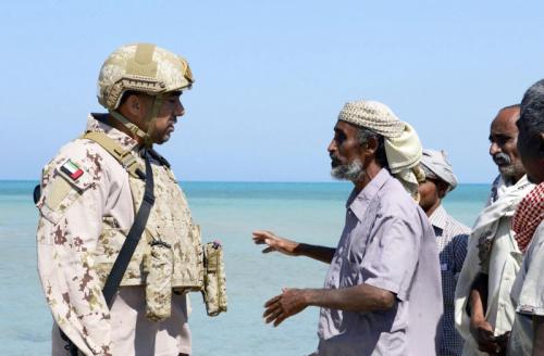 القوات الإماراتية تسطّر ملاحم إنسانية في اليمن