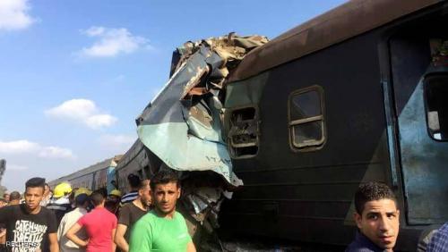 قتلى في تصادم قطارين بمصر
