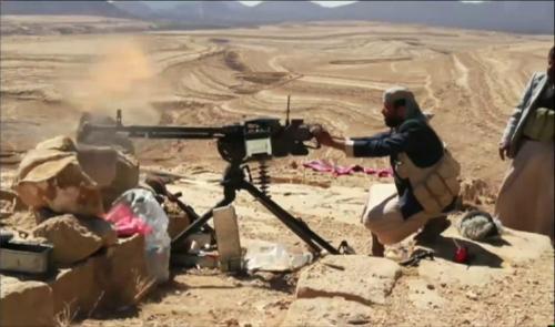 معارك عنيفة بين مليشيا الحوثي والمقاومة في الزاهر بالبيضاء