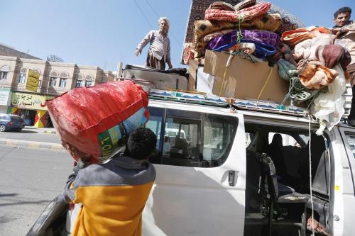 تحالف رصد:  التهجير القسري بسبب ألغام الحوثيين تسبب في كارثة حقيقة لم يكن بمقدور أحد تخيلها (تفاصيل)