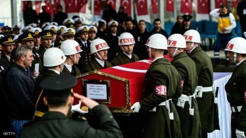 تركيا تفقد أكبر عدد من الجنود بيوم واحد في عفرين