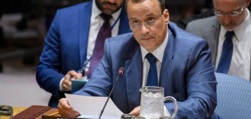 في اليوم الأخير في منصبه ..ولد الشيخ يؤكد عدم وجود حل عسكري للأزمة في اليمن ( حوار )