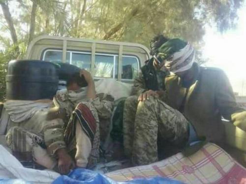 البيضاء : مواجهات عنيفة في ناطع والملاجم و طيران التحالف العربي يستهدف تعزيزات ومواقع للحوثيين