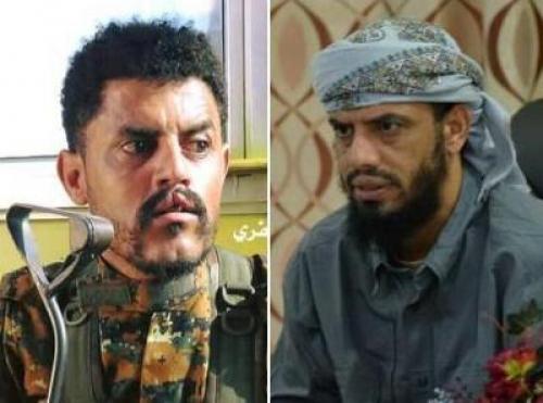 الشيخ بن بريك  يطمئن على حالة القيادي في المقاومة الجنوبية عبدالمجيد حسن بعد تعرضه لمحاولة اغتيال فاشلة