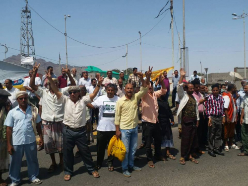 نقابة عمال شركة النفط في عدن تتوعد بخطوات تصعيدية إذا لم يتم الاستجابة لمطالبها