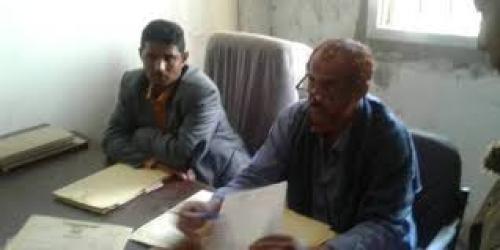 مدير عام يهر يدشن إستئناف العمل القضائي بمحكمة يهر الإبتدائية بمحافظة لحج