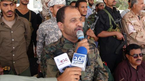 اللواء شلال شايع : عدن تحررت ولن نكون الا شهداء