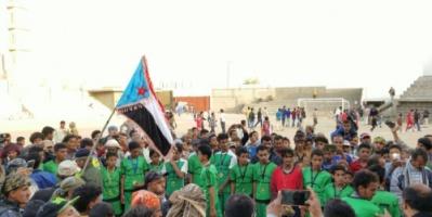 فريق مدرسة محمد عبدالرب القزعة إلى النهائي بعد تجاوزه فريق مدرسة أبو بكر الصديق لصبور