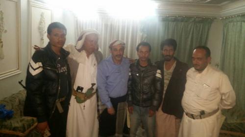 اطلاق 6 أسرى من أبناء الضالع من سجون الحوثيين بإب