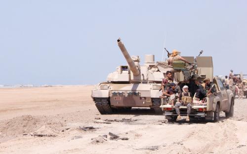 قوات الشرعية في نهم تسيطر على منطقة هران وتقترب من الالتحام مع جبـهات الجوف
