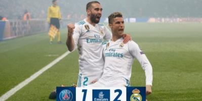 ريال مدريد يكرر فوزه على سان جيرمان ويبلغ ربع نهائي دوري أبطال أوروبا