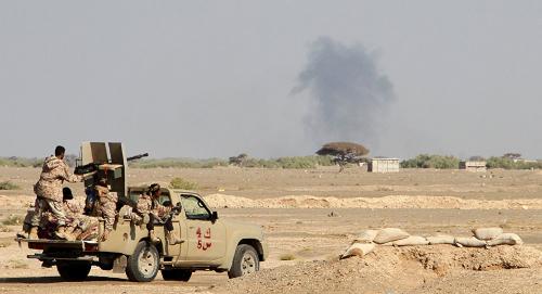 مقتل 60 حوثياً وتدمير أربع مركبات عسكرية تابعة لهم بغارات للتحالف في الساحل الغربي