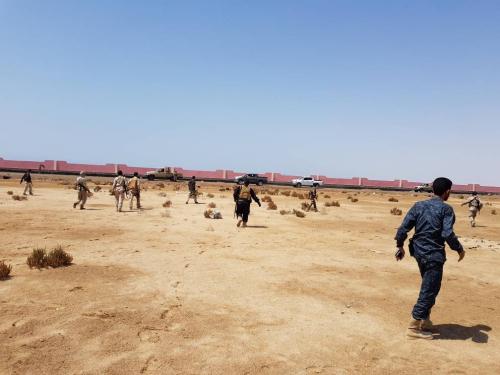 أبو اليمامة يوقف البسط على حرم المطار العسكري بصلاح الدين