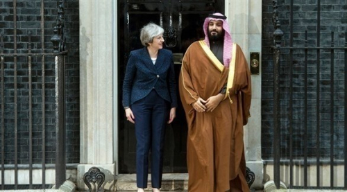 السعودية وبريطانيا تتفقان على ضرورة مواجهة إيران