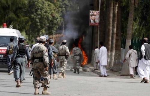 مقتل 17 شرطياً بهجمات لطالبان في أفغانستان