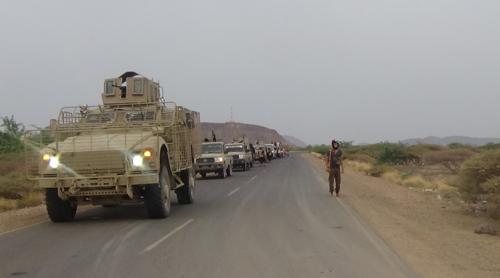 القوات الجنوبية تؤكد استمرار عملياتها العسكرية باسناد من التحالف في تحرير مناطق الساحل الغربي