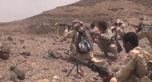 الجيش الوطني والمقاومة يسيطران على مواقع استراتيجية في البيضاء