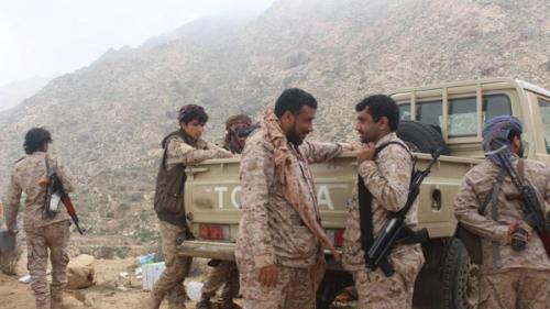 تقدم جديد للجيش الوطني في البيضاء والتحالف يستهدف تعزيزات للمليشيات