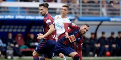 بالصور: ثنائية رونالدو تقود ريال مدريد لعبور إيبار