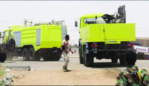 بدعم الإمارات.. دفاع عدن المدني ينهض من تحت الركام