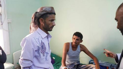 """العميد منير اليافعي """"أبو اليمامة"""" يتفقد مكتب الشهداء بلحج ويتعهد بتقديم الدعم اللازم"""
