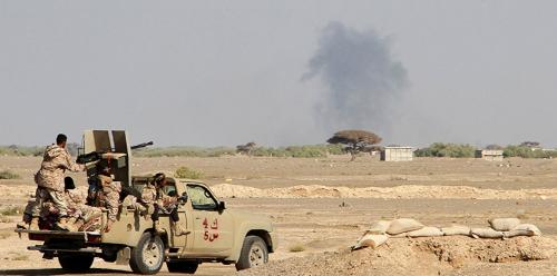 قادة جبهة الساحل الغربي يعودون الى أرض المعركة بعد زيارة إلى دولة الإمارات