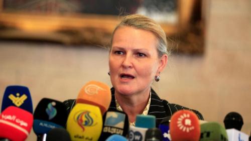 منسقة الأمم المتحدة الجديدة تكشف عن مؤتمر دولي لدعم اليمن في هذا الموعد