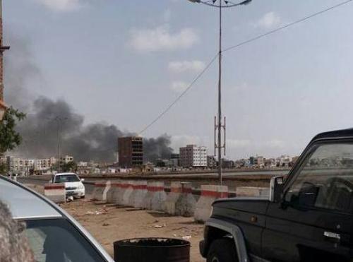عاجل: دوي انفجار يهز مدينة المنصورة بالعاصمة عدن