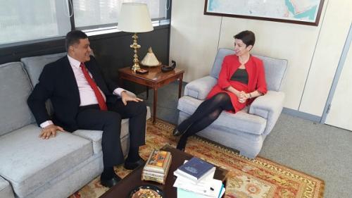 ميسري يناقش إمكانية وضع اليمن ضمن الدول ذات الأولوية في خطة المساعدات الإسبانية