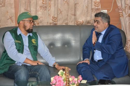 مدير مركز الملك سلمان بعدن يبحث التعاون المشترك مع وزارة التخطيط