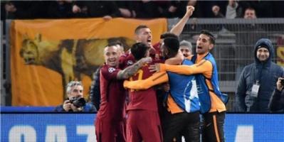 بالصور: دجيكو يقود روما لربع نهائي دوري الأبطال