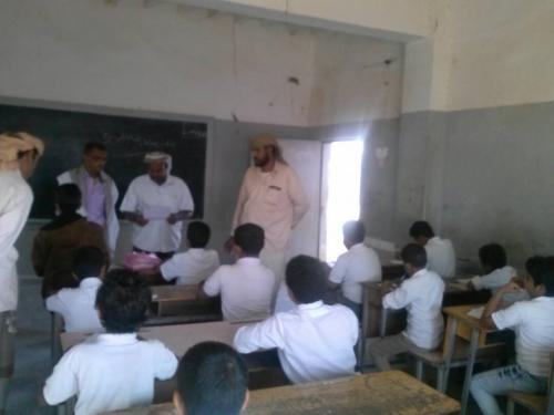 فريق التوجيه التربوي بتربية المحفد  يزور مدرستي الشهيد الدره و22 يونيو