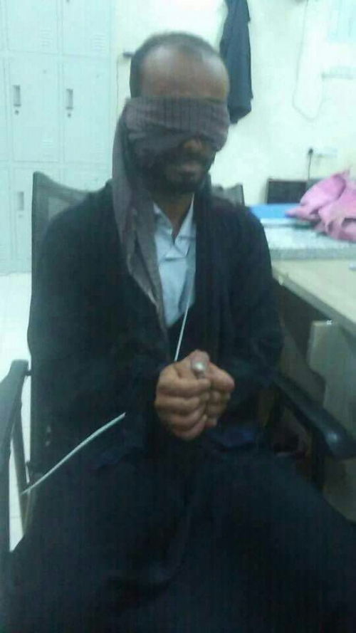 القبض على اخطر مهرب حشيش في احدى نقاط بله بمحافظة لحج