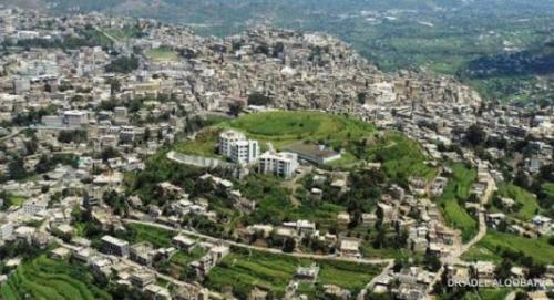 موقع عسكري جديد للمليشيات في جبل سمارة بإب