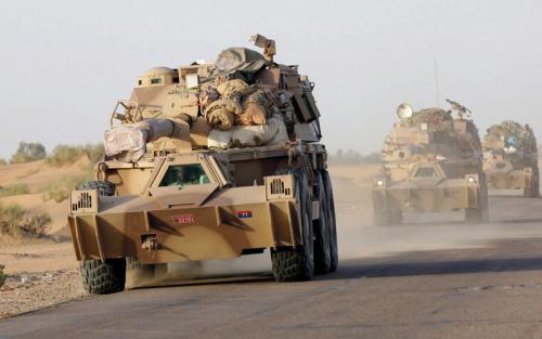 قوات الشرعية اليمنية تسيطر نارياً على طرق الإمداد بين تعز ولحج