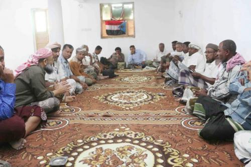 اجتماع موسع لأعضاء القيادة المحلية للمجلس الانتقالي الجنوبي في سيئون حضرموت