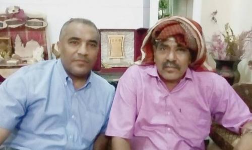 نائب رئيس جامعة عدن يزور الدكتور / فضل مكوعللاطمئنان على صحته