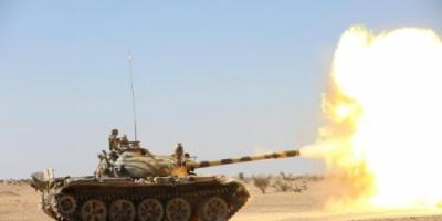 الجيش الوطني يسيطر على مواقع الميليشيا بمديرية برط العنان في الجوف