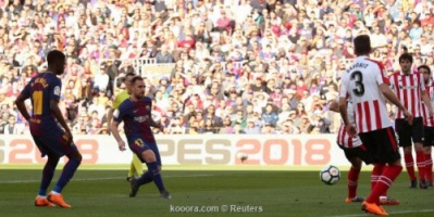 برشلونة يعبر أتلتيك بيلباو مواصلًا زحفه نحو لقب الليجا