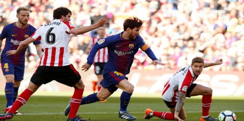 ترتيب الدوري الإسباني بعد فوز نادي برشلونة على أتلتيك بلباو
