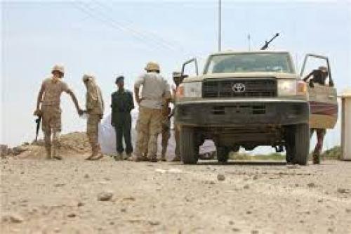 اندلاع اشتباكات بين قوات الحزام الامني القادمة من عدن وعدد من النقاط الغير رسمية
