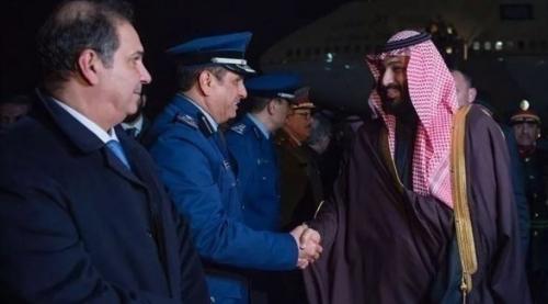 ولي العهد السعودي يصل العاصمة الأمريكية واشنطن (مصور)