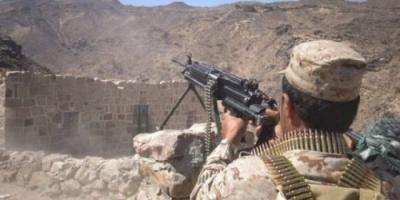 51 قتيل وجريح من الحوثيين في جبهة مقبنة غرب تعز