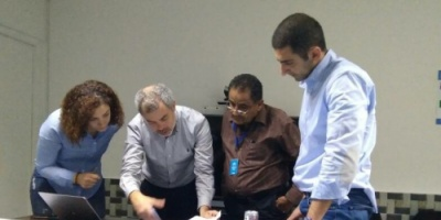 """منظمة """"حق"""" تقدم تقارير حقوقية لمحققيّ فريق لجنة الخبراء الدوليين"""