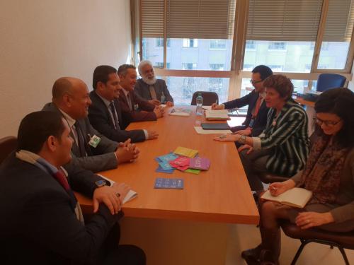 وزير حقوق الإنسان اليمني يلتقي المفوض السامي لحقوق الإنسان