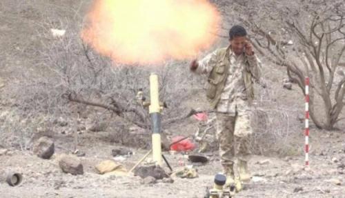 مصرع قيادي حوثي بتعز ومعارك عنيفة شمال الضالع