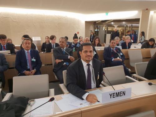 الدكتور محمد عسكر : انتهاكات ميليشيا الحوثي تتزايد يوما بعد اخر